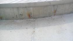 Sanace smršťovacích spár a reprofilace betonu bazén Kutná Hora