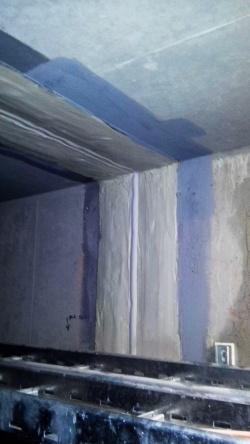 Sanace dilatačních spár v technických chodbách tunelu Blanka